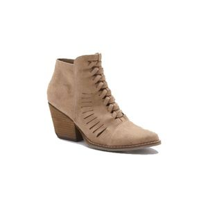 Coconuts by Matisse Aly Woven Bootie in Natural